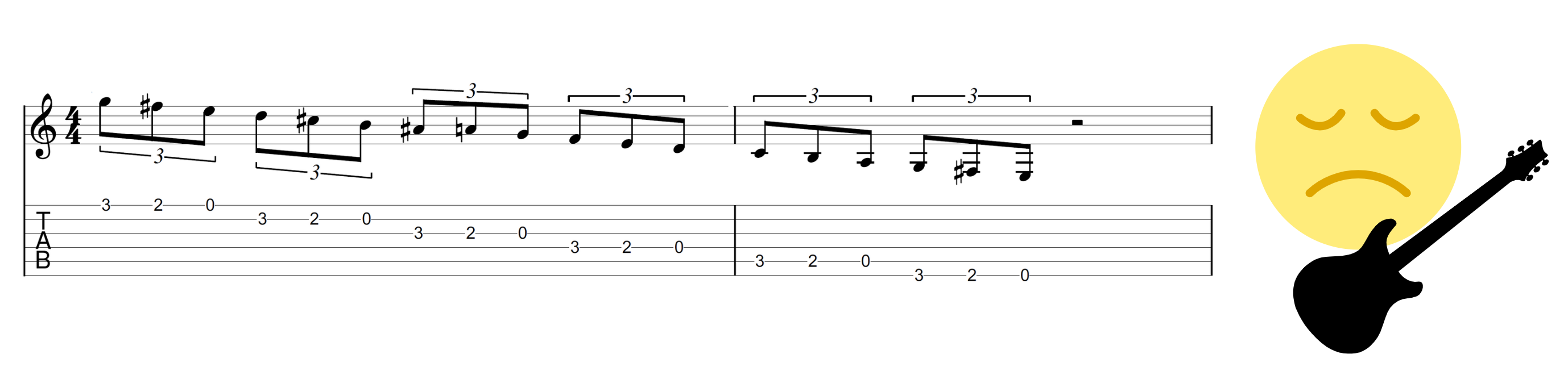 Blues Lick Exercise 1