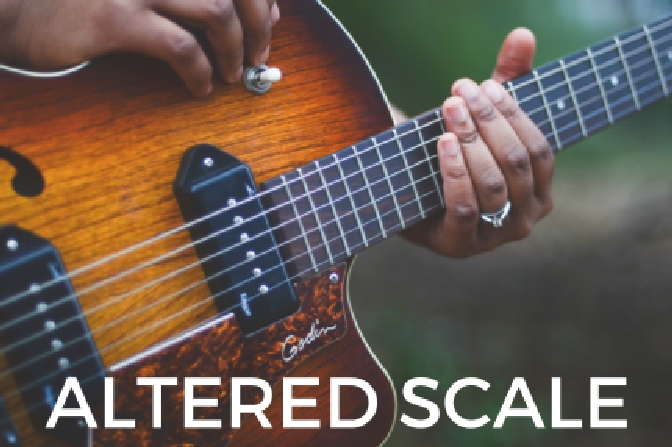 how to play the altered scale