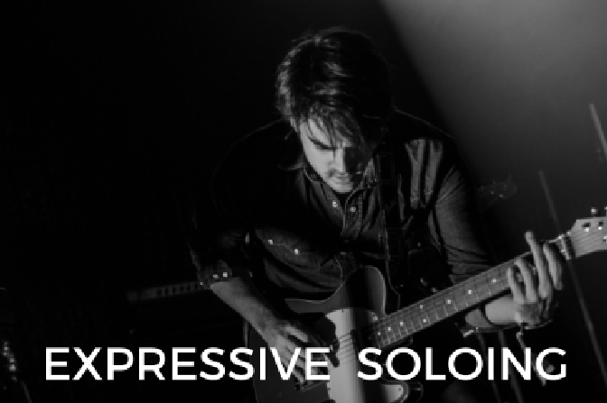 how to play expressive blues guitar solos