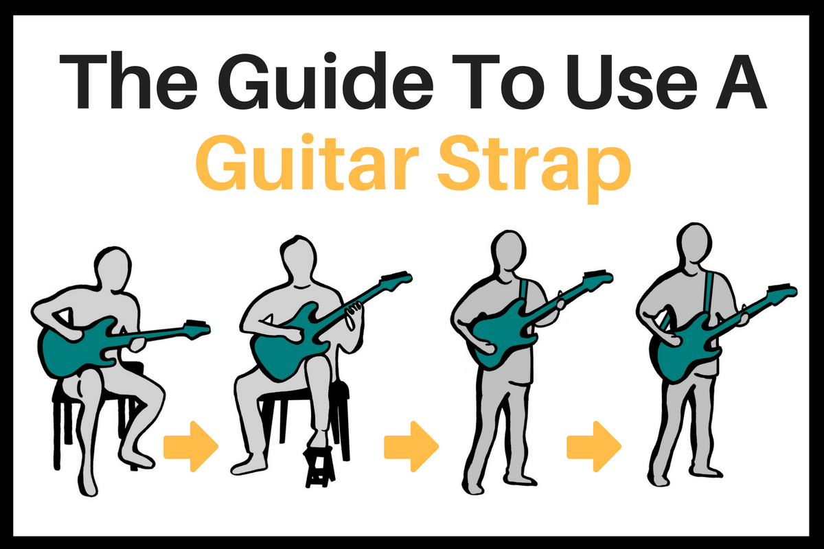 how to use a guitar strap